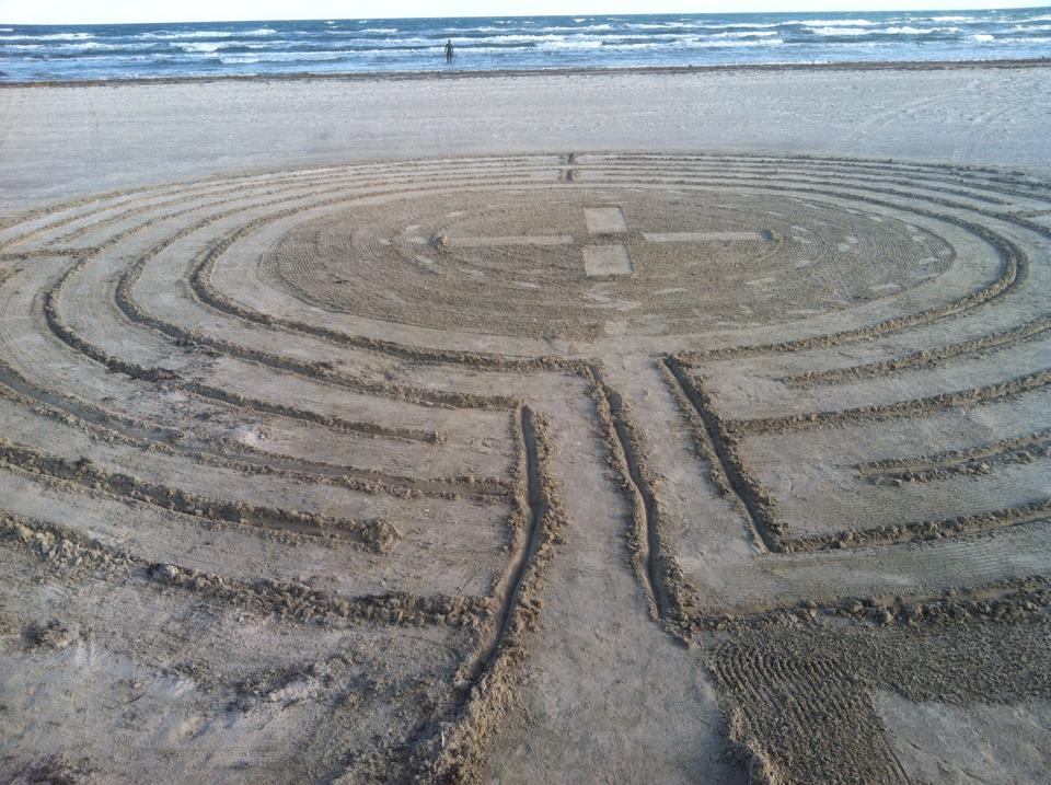 Labyrinth for Holy Week